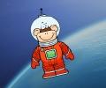 שימפנזה בחלל