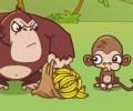 הקופים, הגורילה והבננות