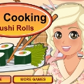 Mia Cooking Sushi