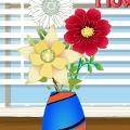 מעצבת הפרחים