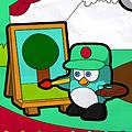הפינגווין הצייר