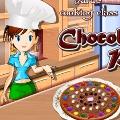 כיתת בישול: פיצת שוקולד